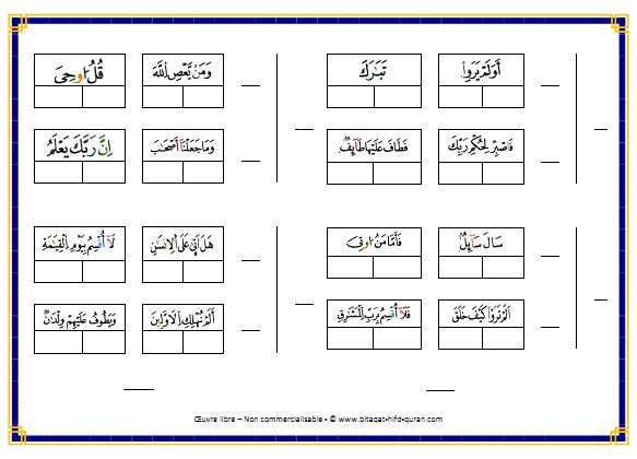 Carte n°3 par Hizb verso