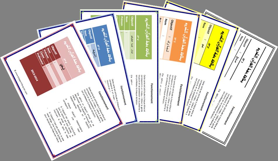 Kit de cartes de récitation